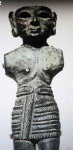 Statuette trouvée à Karkémis