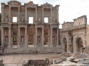Bibliothèque de Celsus à Ephèse
