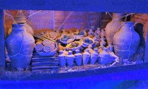 Différents objets de l'épave d'Uluburun