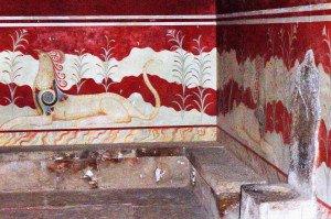 Knossos - Salle du trône