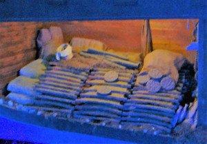 Lingots de cuivre de l'épave d'Uluburun