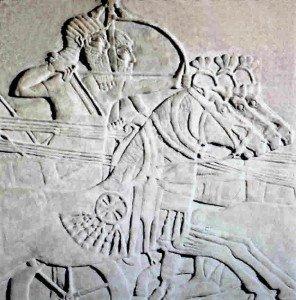 Fresque néo-assyrienne