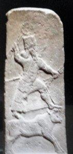 Représentation d'une divinité Assyro-hittite