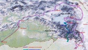 Campagnes de Salmanazar III en pays d'Urartu