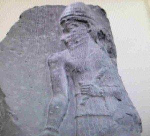 Stèle de Naram-Sin trouvée au Pir Huseyn - Musée de Turquie