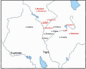 Villes des Turukkéens
