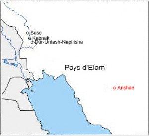 Anshan dans le pays d'Elam