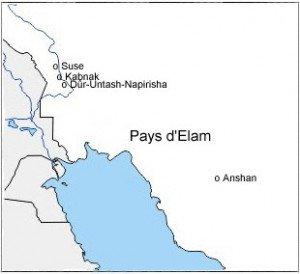 Villes du pays d'Elam